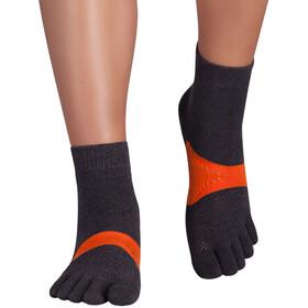 Knitido Marathon TS Running Socks, gris/orange